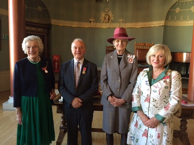National Honours for three Worcestershire volunteers